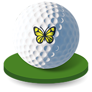 syf golfball butterfly